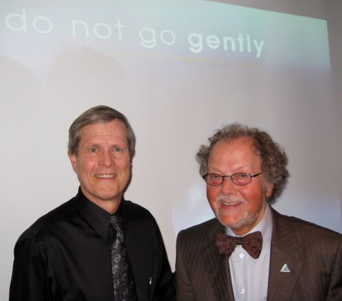 Dr. Gene Cohen and Brent Green 1