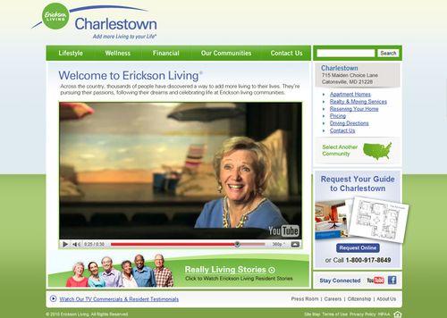 Erickson Living website 2