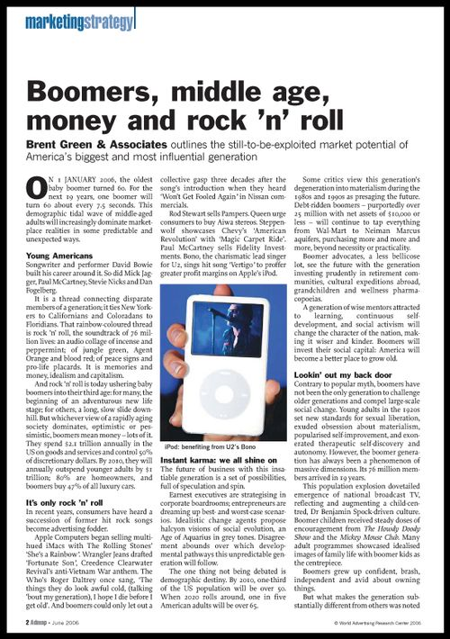 Admap article by Brent Green June 2006 2
