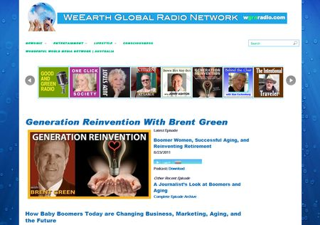 WeEarth Global Radio Network banner 2