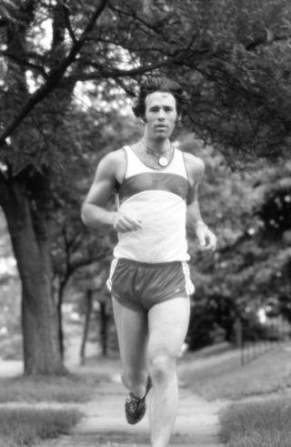 Mark Crooks running by Brent Green