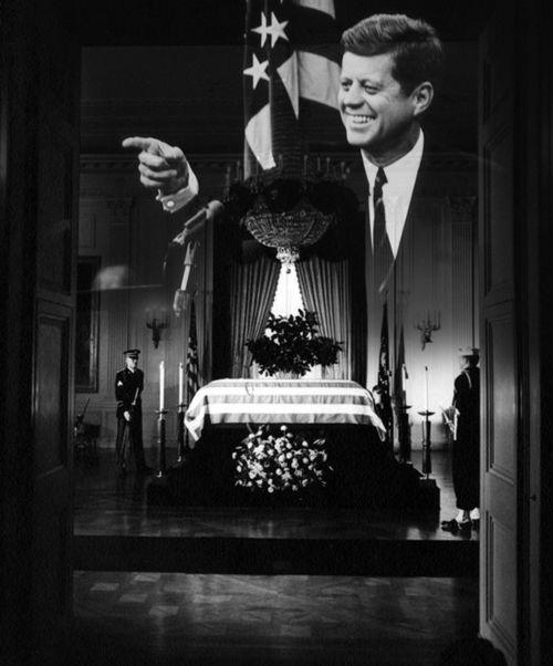 JFK casket 2