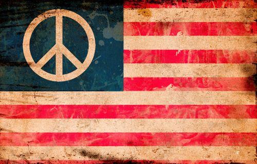 Peace flag - small