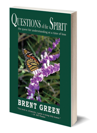Questions of the Spirit - 3D book cover email sig