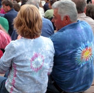 Jethro Tull couple at Red Rocks 2
