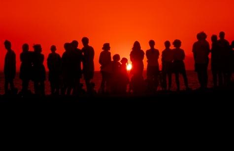 Generations_at_sunset